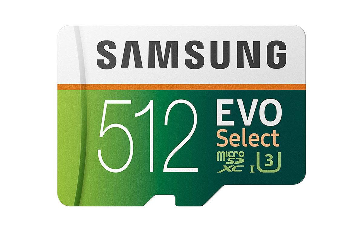 Samsung 512GB 100MB/s (U3) MicroSD