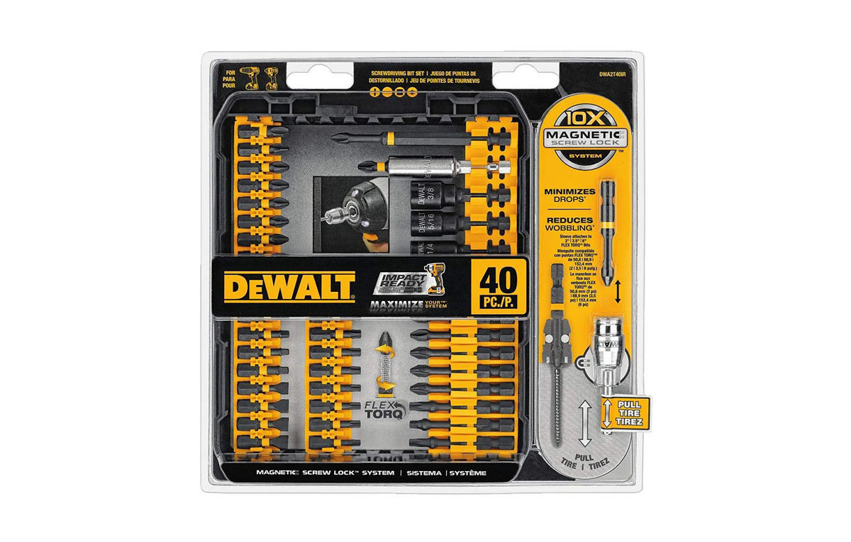 DEWALT FlexTorq Screw Driving Set