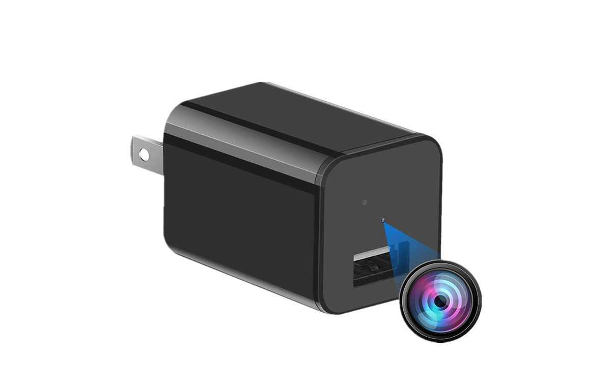 Spy Camera Charger HD 1080P
