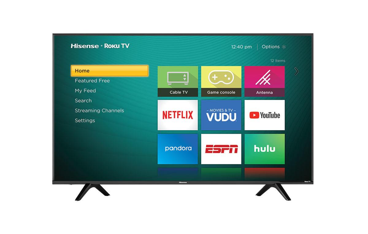 Hisense 60″ 4K Smart LED TV