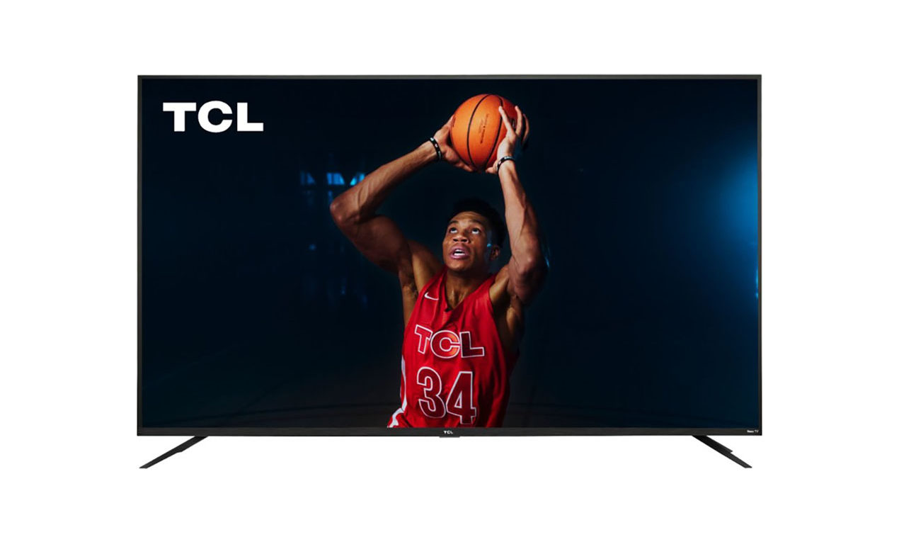 TCL 75″ 4K LED HDR Roku Smart TV